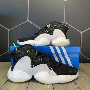 New W/ Box! Adidas Crazy BYW Core Black